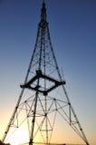 De toren van Televison in de ochtend Royalty-vrije Stock Foto's