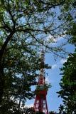 De Toren van Tokyo Stock Foto
