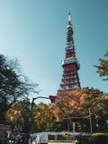 De Toren van Tokyo, Japan royalty-vrije stock afbeeldingen