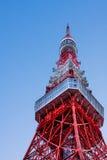 De toren van Tokyo op HDR Stock Foto