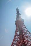De Toren van Tokyo | Reis in Japan op 30 Maart, 2017 Royalty-vrije Stock Afbeelding