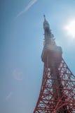 De Toren van Tokyo | Reis in Japan op 30 Maart, 2017 Stock Foto