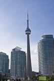 De Toren van Toronto Harbourfront Stock Foto