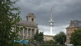 De toren van TV van Hamburg stock footage