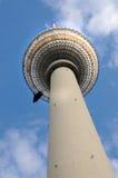 De toren van TV van Berlijn Stock Afbeeldingen