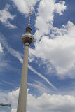De Toren van TV van Berlijn stock fotografie