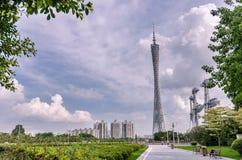 De toren van TV van Guangzhou Stock Afbeelding