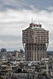 De Toren van Velasca Stock Afbeeldingen
