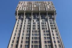 De Toren van Velasca, Milaan Stock Afbeelding