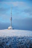 De toren van vooruitzichten op Berg Praded royalty-vrije stock afbeeldingen