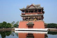 De Toren van Wufeng in Oude Stad Luodai royalty-vrije stock fotografie