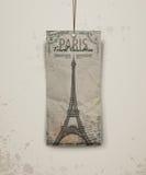 De toren vectorillustratie van Eiffel Stock Afbeeldingen