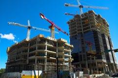 De torenbouw van het bureau stock afbeelding