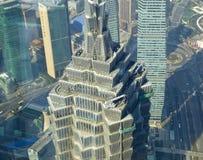 De torenbovenkant van Shanghai Jinmao Royalty-vrije Stock Afbeelding