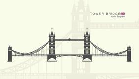 De torenbrug in Londen Royalty-vrije Stock Afbeelding