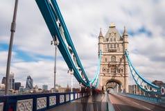 De Torenbrug van Londen, het UK Engeland Stock Afbeelding