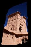 De torendetail van Kasbah Royalty-vrije Stock Foto's