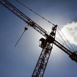 De torenkraan van de bouw   Royalty-vrije Stock Fotografie