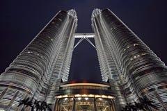 De torens Kuala Lumpur van Petronas Stock Afbeeldingen