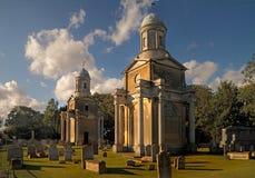 De Torens Mistley van de kerk Royalty-vrije Stock Afbeelding