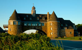 De Torens, op Oceaanweg in Narragansett, Rhode Island royalty-vrije stock afbeelding