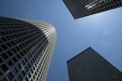 De torens van Azrieli Tel Aviv Israil Stock Fotografie