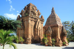 De torens van Cham Stock Afbeelding