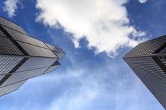 De Torens van Chicago Stock Afbeeldingen