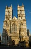 De torens van de Abdij van Westminster stock afbeeldingen