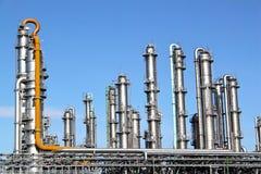 De torens van de distillatie royalty-vrije stock afbeelding
