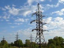 De torens van de raaklijn Stock Afbeelding