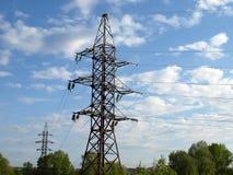De torens van de raaklijn Stock Foto's