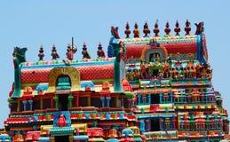 De torens van de tempel van ramaswami Stock Afbeelding