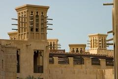 De torens van de wind, Doubai. Royalty-vrije Stock Afbeeldingen