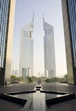 De Torens van emiraten Royalty-vrije Stock Foto's