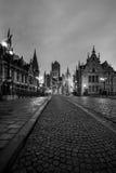 De torens van Gent stock foto