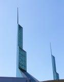 De Torens van het glas Stock Afbeeldingen