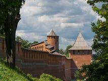 De torens van het Kremlin royalty-vrije stock foto