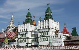 De torens van het Kremlin van Izmailovo Royalty-vrije Stock Foto