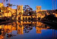 De Torens van het Park van Balboa (sinaasappel) Stock Foto