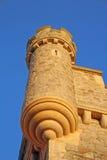 De torens van het Whitstablekasteel Royalty-vrije Stock Foto's
