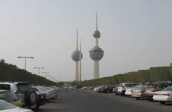 De Torens van Koeweit royalty-vrije stock fotografie