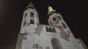 De torens van Krakau Royalty-vrije Stock Afbeeldingen
