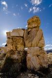 De torens van marmerblokken Stock Fotografie
