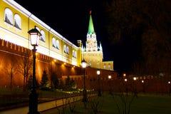 De torens van Moskou Stock Foto's