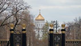 De torens van Moskou Stock Afbeeldingen
