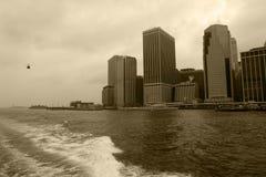 De Torens van New York royalty-vrije stock foto's