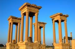 De torens van Palmyra Royalty-vrije Stock Fotografie