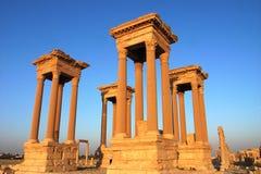 De torens van Palmyra Stock Afbeeldingen