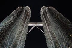 De Torens van Petronas Stock Afbeeldingen